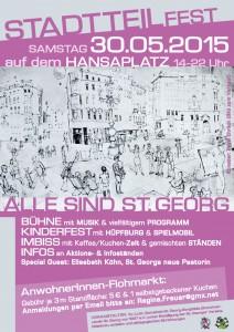 Plakat Stadtteilfest