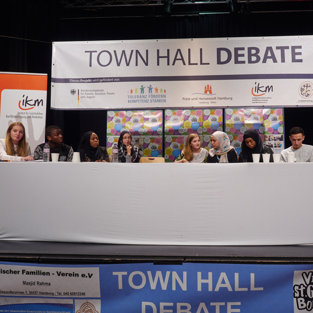 "Einladung zur ""Town Hall Debate"" in St. Georg"