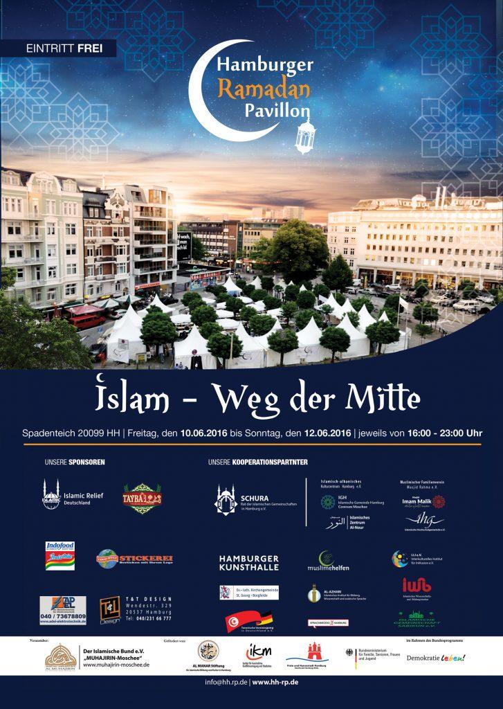 Hamburger Ramadan-Pavillon 2016 Plakat