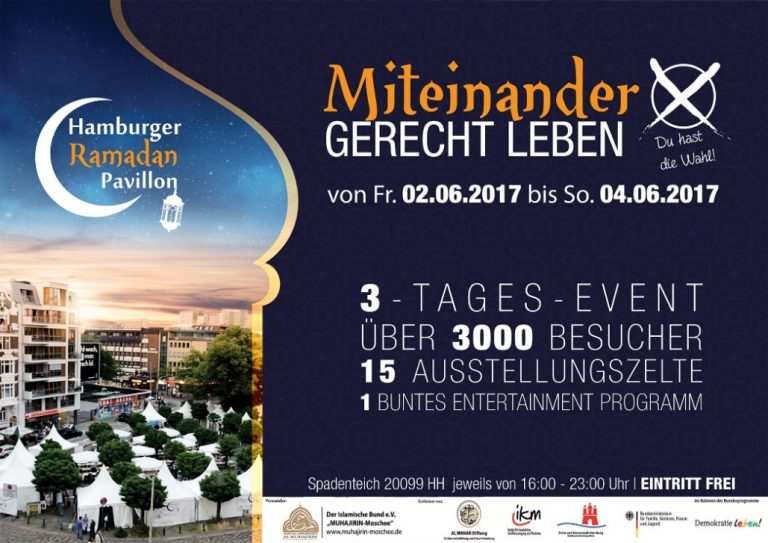 Hamburger Ramadan Pavillon – Der islamische Bund Hamburg e.V.