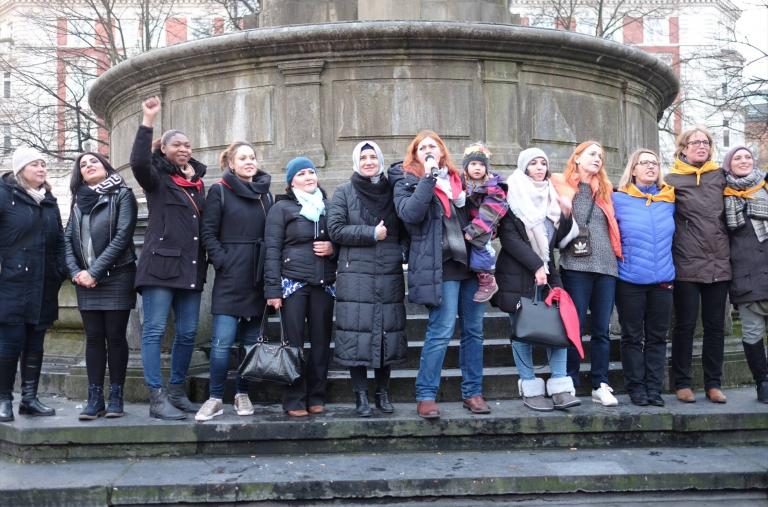 Raise your Voice- Kundgebung gegen Gewalt an Frauen