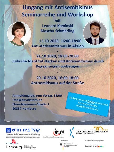 Umgang mit Anti-Semitismus – Empowerment für jüdische Mulitplikator*innen