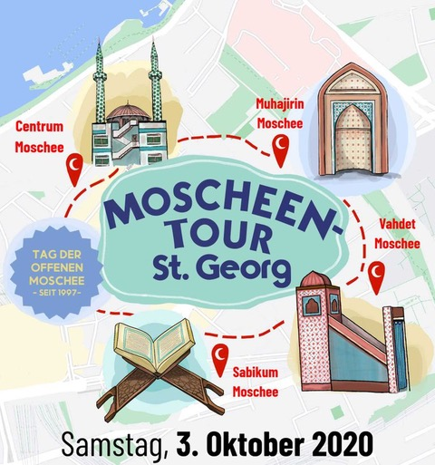 Moscheen-Tour St. Georg