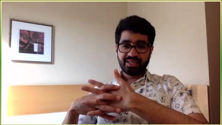 """""""Wir erinnern daran, damit so etwas nie wieder passiert!"""" Diskussionsrunde mit Mohamed Amjahid"""