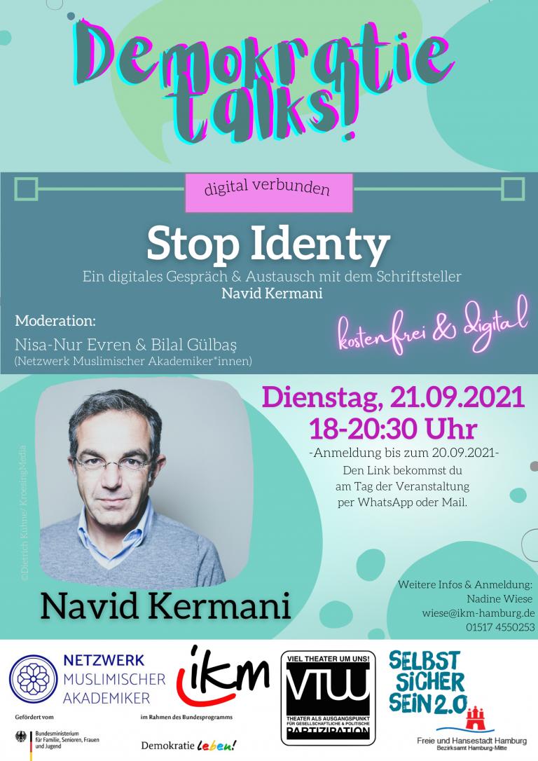 Stop Identy- Demokratie talks!